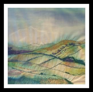 Shropshire Hills 3 - Mixed Media - 2017