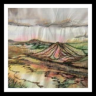 Shropshire Hills 2 - Mixed Media - 2017